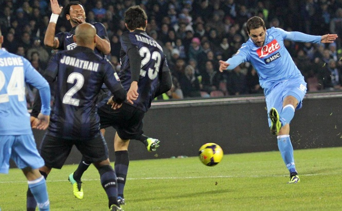Napoli vs Inter - Serie A Tim 2013/2014